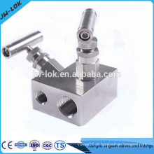 Colectores de instrumentos de válvula de aço inoxidável 2