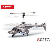 SYMA S027G 3-канальный вертолет RC - Огненный волк