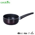 Pressed Mini Black Marble Full Induction Cookware Set