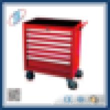 rolling metal tool cabinet tool trolley