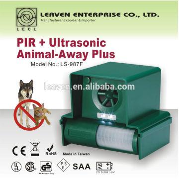 El perro más eficaz y humano y repelente de gato contra animales no deseados