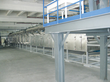 Single Pass Belt Drying Equipment