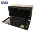 black empty metal underbody tool box for ute truck