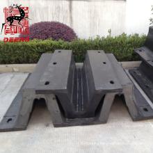 Customized size dock rubber fender arch fender/bumper for port