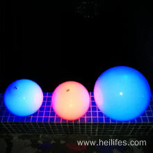 16 colors popular swimming pool ball light