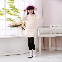 high quality wool cashmere girl winter sweater pullover uniform