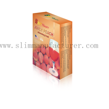Slimming peach powder