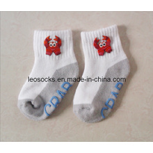 Chidren Organic Cotton Socks with Embroidery