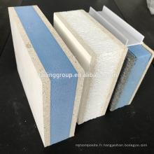 Ourdoor wall Panneau en oxyde de magnésium Sandwich EPS / XPS MGO SIP panel