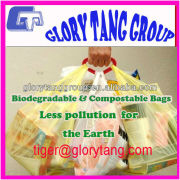 Biodegradable compostable carry bags for shopping
