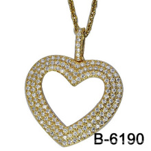 New Design Fashion Jewelry 925 Sterling Silver Pendant with Love