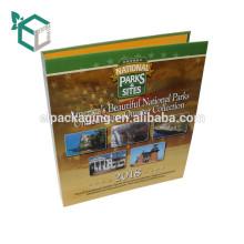 Hochwertige Karton-CMYK-Druck glänzend Laminierung Anpassung Design-Papier-Datei-Ordner für den Einsatz im Büro