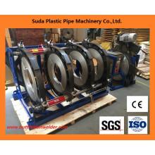Máquina de soldadura del extremo del tubo de HDPE de la máquina de la fusión de 315-630m m a tope