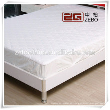 Hot Sale 120GSM White Hotel o Hospital usado King Size colchón protector