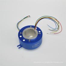 Стандартное контактное кольцо со сквозным отверстием для текстильного оборудования