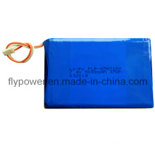 7.4V 5000mAh Lithium Polymer Battery PAC (2S of FLP-6567100) .