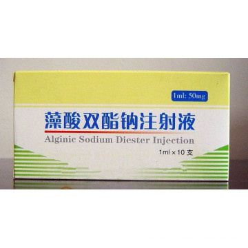 High Quality 0.1g Alginic Sodium Diester for Injection