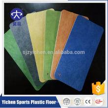 Dance studio PVC foam flooring/gym flooring used