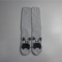 Soft Touch Polyester Bier Slippers Socks