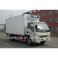 JAC mini refrigerated truck, cheap refrigerated truck for sale
