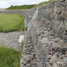 High Strength Galfan Gabion Retaining Wall Made in China
