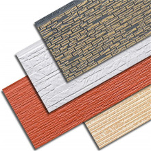 Decorative metal insulation pu foam sandwich panels