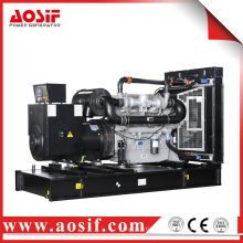 500KW / 625KVA generador 50hz con perkins motor 2806A-E18TAG2 hecho en Reino Unido
