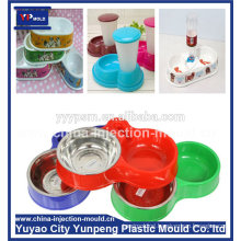 new products plastic injection moulds manufacturer for Auto Dog Feeder Feeding Bowl