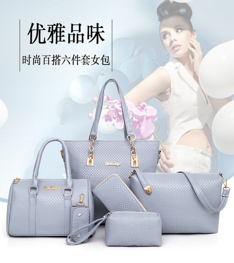 Wholesale Designer Genuine PU Tote Fashion Ladies Handbags