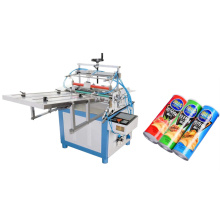 Automatic multifunctional paper tube labeling machine