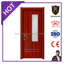 Best Price Melamine Ready Made Bathroom Glass Door