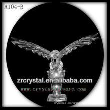 Bonita estatuilla de animales de cristal A104-B