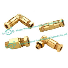 JKY Cutting Ferrule Type Tube Fitting (BRASS)