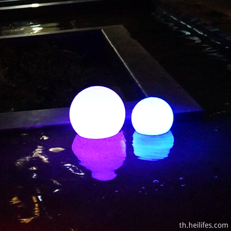 Water Led Solar Ball