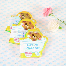 promotional bath book toys for children