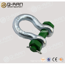 Crane Shackle/Rigging Drop Forged Galvanized Crane Shackle