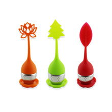 3PCS Silicone Handle Custom Stainless Steel Tea Infuser