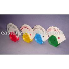 Four Color Triangle Playing Card Holder Card Clamp