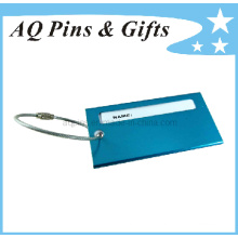 Name Card Case with Metal Ring