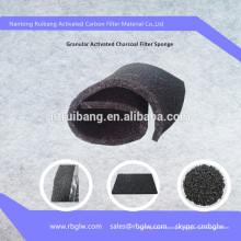 fabrication de filtre à charbon actif granulaire