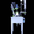 High quality chemical 10L single glass reactor price