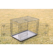 Outdoor Use Folding Dog Cage