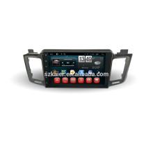 Автомобиль DVD для полный сенсорный экран с Android 4.4 система для RAV4+двухъядерный +10.1 дюймов+ОЕМ