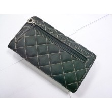 Zipper Closed Lady Wallet Purse
