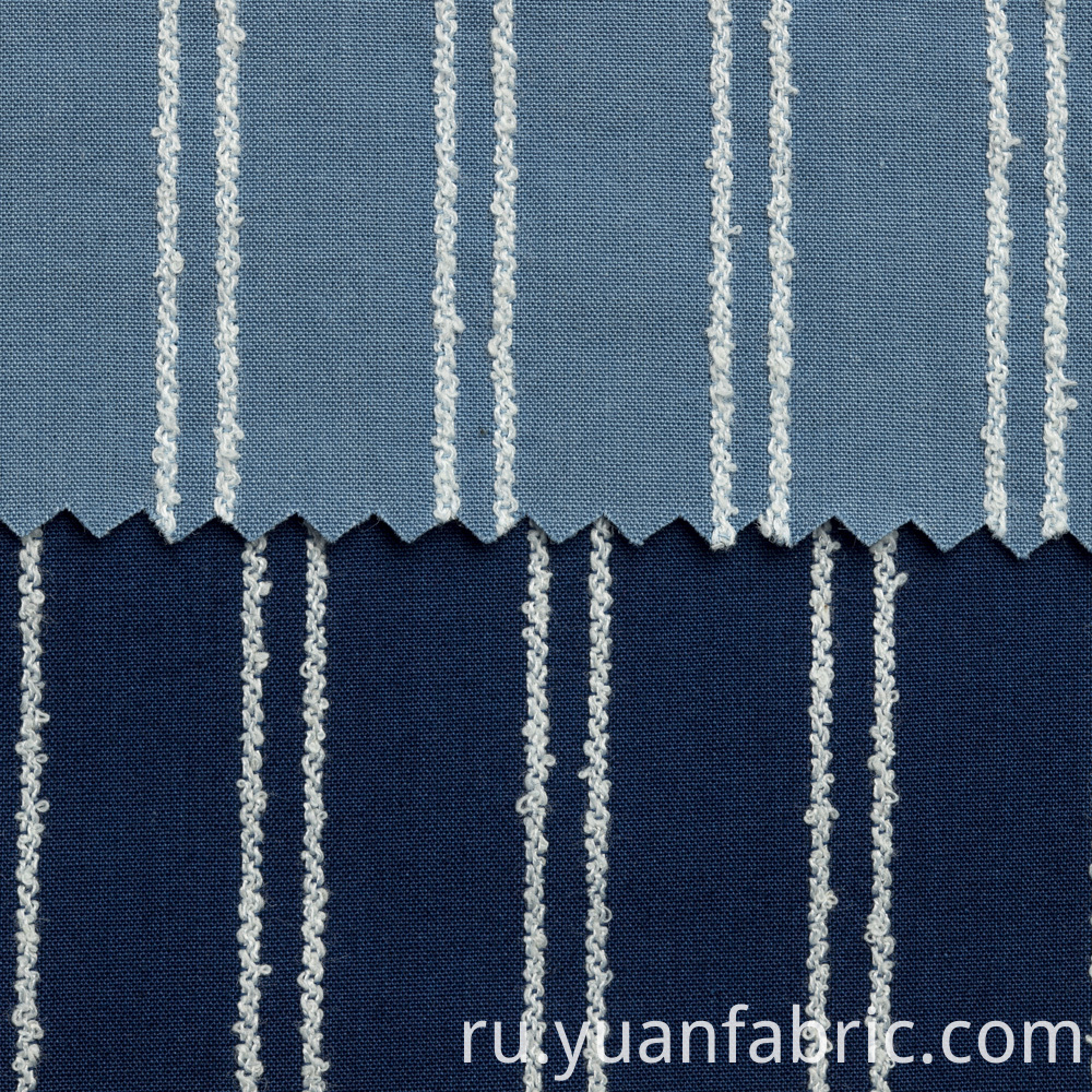 123yarn Dyed Woven Cotton Denim Fabric For Shirt