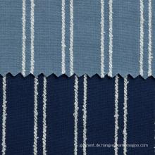 Garn gefärbtes gewebtes Baumwolldenim-Gewebe für Hemd
