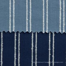 Tela tingida fio da sarja de Nimes do algodo para a camisa