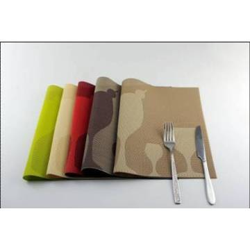 Best Quality for Pvc Placemat PVC jacquard glass table mat export to South Korea Wholesale