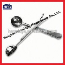 Stainless Steel Coffee Spoon with Clip