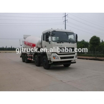 Dongfeng 8X4 concrete mixer truck for 10-14 cubic meter
